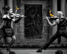 Strings On Fire - After Dinner Entertainers